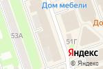 Схема проезда до компании Владимирская Фабрика Дверей в Дзержинске