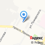 Детский сад №39 на карте Дзержинска