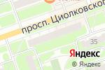 Схема проезда до компании Малина в Дзержинске