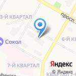 ДОК на карте Дзержинска