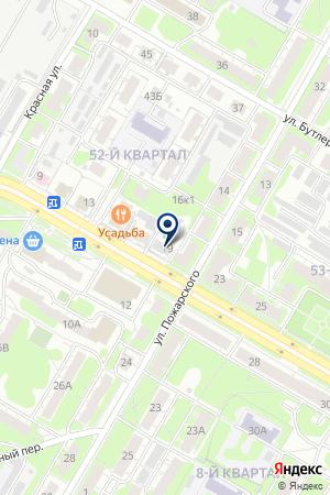 ПКФ А-СОЛЬ на карте Дзержинска