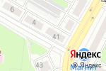 Схема проезда до компании Продовольственный магазин в Дзержинске
