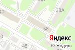 Схема проезда до компании Росток в Дзержинске