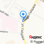 Транспродукт на карте Дзержинска