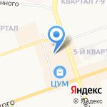 Киоск по продаже дисков на карте Дзержинска