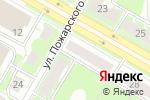 Схема проезда до компании КС-ПЛЮС в Дзержинске