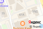 Схема проезда до компании Супер Ценопад в Дзержинске