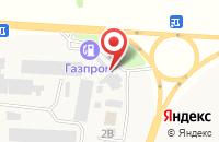 Схема проезда до компании Нива в Подгорной