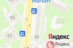 Схема проезда до компании Наш доктор в Дзержинске