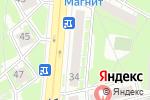Схема проезда до компании Компания по продаже заводских окон в Дзержинске