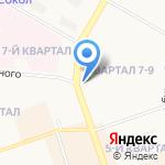 Гаечка на карте Дзержинска