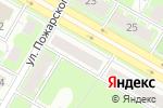 Схема проезда до компании Kvadro52 в Дзержинске