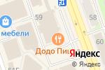Схема проезда до компании Фантазия в Дзержинске