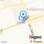 Киоск по продаже проездных билетов на карте Дзержинска