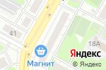 Схема проезда до компании Почта Банк в Дзержинске