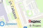 Схема проезда до компании Европа в Дзержинске