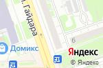 Схема проезда до компании Татфондбанк в Дзержинске