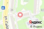 Схема проезда до компании NBpart.ru в Дзержинске