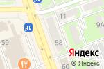 Схема проезда до компании Лапочка в Дзержинске