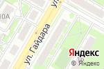 Схема проезда до компании Интерьер Авто в Дзержинске