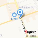 Зазеркалье на карте Дзержинска