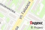 Схема проезда до компании Burger King в Дзержинске