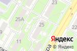 Схема проезда до компании Arxiland в Дзержинске