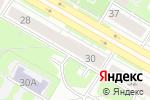 Схема проезда до компании Здоровье в Дзержинске