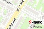 Схема проезда до компании Уралочка в Дзержинске