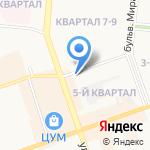 Агентство оценки на карте Дзержинска