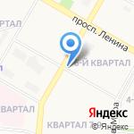 А-студия на карте Дзержинска