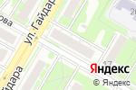 Схема проезда до компании Триумф-НН в Дзержинске