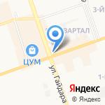 Молоко на карте Дзержинска