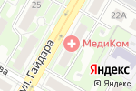 Схема проезда до компании Матрица в Дзержинске