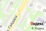 Схема проезда до компании Автоинженер.рф в Дзержинске