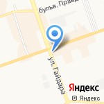 Добрая подушка на карте Дзержинска