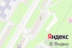Схема проезда до компании МПК Жилвентсервис в Дзержинске