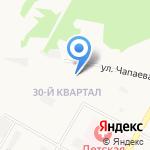 Средняя общеобразовательная школа №32 на карте Дзержинска
