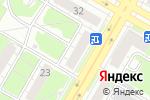 Схема проезда до компании Pegas Touristik в Дзержинске