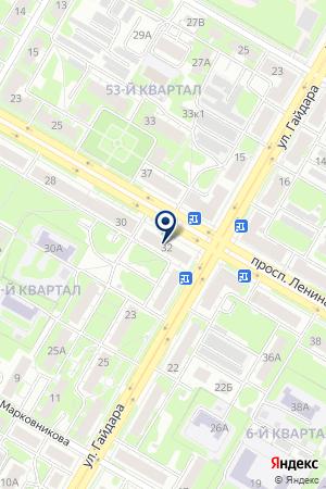 МАГАЗИН БЫТОВОЙ ТЕХНИКИ ОЛИМПИК на карте Дзержинска