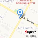 Модные кухни на карте Дзержинска