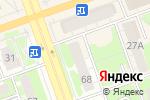 Схема проезда до компании Цветочки & букетики в Дзержинске
