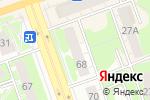 Схема проезда до компании Цветочная лавка в Дзержинске