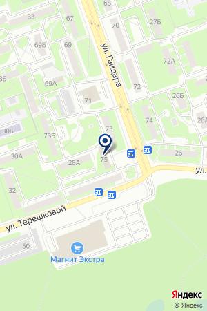 ПТФ ФОРММАТ на карте Дзержинска