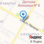Саша на карте Дзержинска