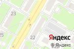 Схема проезда до компании Акцент в Дзержинске
