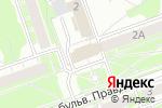 Схема проезда до компании Триумф в Дзержинске