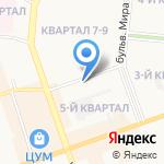 Регион на карте Дзержинска