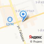 Насософф на карте Дзержинска