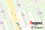 Схема проезда до компании NPS в Дзержинске